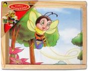 Kubus dřevěný 12 ks (dřevěné kostky)