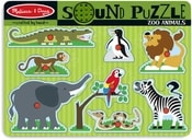Vkládačka se zvukem safari zvířátka