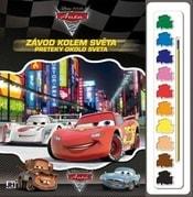 Omalovánky s barvami CARS 2