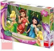 Puzzle Disney Fairies víly Zvonilka 66 dílků v krabici