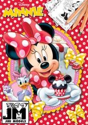 Omalovánky A4 Disney Minnie Mouse