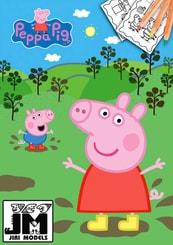 Omalovánky A4 prasátko Peppa Pig