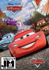 Omalovánky A5+ Disney Cars (Auta)