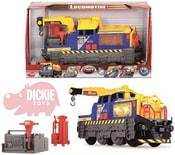 Lokomotiva 33cm nákladní set jeřáb s doplňky