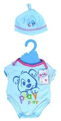Oblečení pro panenku, modré
