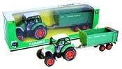 Traktor kovový s vlečkou
