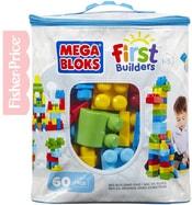 Stavebnice 60 dílků v plastové tašce pro kluky