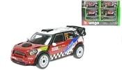 Auto Rally kovové 1:32 MINI WRC Team SORDO kovový model