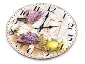 Dřevěné hodiny Ø34 cm