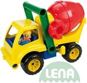 Auto plastové aktivní domíchávač 28cm set s panáčkem 4153