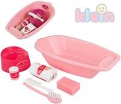 Baby vanička plastová set s doplňky 7ks pro miminko