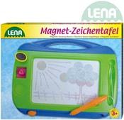 Tabulka magnetická barevná 32x25x3cm set s tužkou a 2 razítky