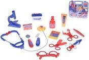 Set doktorský dětské lékařské potřeby v kufříku 14ks plast