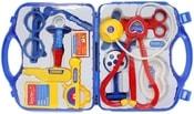 Doktorka set dětské lékařské potřeby v kufříku malý zdravotník