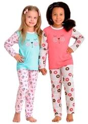 Dětské pyžamo se vzorem sladkostí