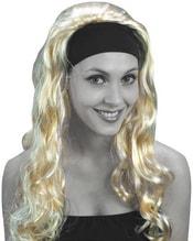 Paruka super blond dlouhá