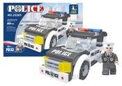 Stavebnice policejní auto 82 dílů