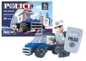 Stavebnice policejní auto 33 dílů