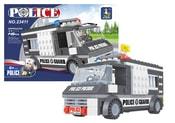 Stavebnice policejní auto 146 dílů