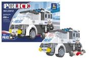Stavebnice policejní auto 128 dílů