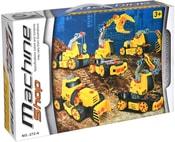 Stroj stavební šroubovací stavebnice plastová 5v1 60 dílků v krabici