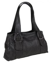 Dámská kabelka na rameno 822 tmavá šedá