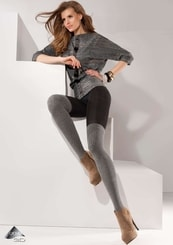 Dámské vzorované punčochové kalhoty Roxy