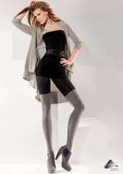 Dámské vzorované punčochové kalhoty Adel