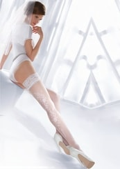 Samodržící punčochy Princessa 06