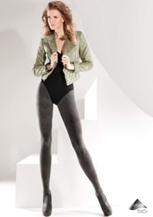 Dámské vzorované punčochové kalhoty Nessa