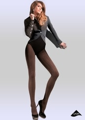 Dámské vzorované punčochové kalhoty Ariel
