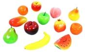 Ovoce plastové v síťce