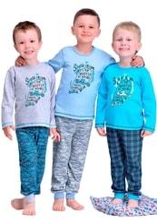 Dětské pyžamo s obrázkem skateboardu