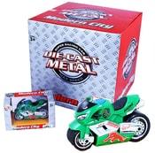 Motorka kovová v krabičce