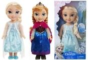 panenka FROZEN - Ledové království Elsa a Anna v nových šatech