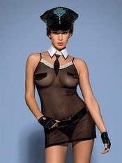 Sexy kostým Police chemise