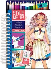 SMU Návrhářské studio Námořnické kreativní sada Style Me Up