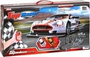 Autodráha 1:43 Top Racer 450cm set 2 auta s ovladači