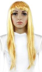 Paruka dlouhé vlasy, blond