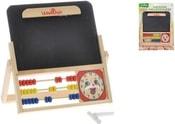 Tabule set s počítadlem a hodinami na kartě