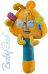 Plyšová hračka motýlek kladívko pro miminko