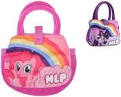 Taštička plyšová dětská kabelka 2 druhy My Little Pony