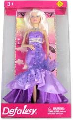 Panenka Defa Lucy blondýnka v luxusních šatech s doplňky 2 barvy