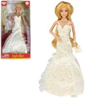 Panenka Defa Lucy 29cm večerní plesové šaty s náhrdelníkem 3 druhy