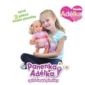 Panenka Adélka 43cm na baterie zpívá 3 písně se zvukem