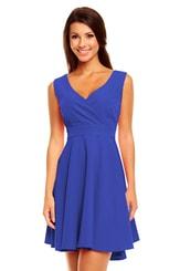 Dámské modré šaty KM155 - 2