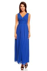 Modré plesové šaty KM150-2
