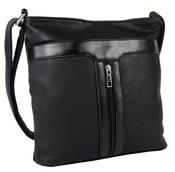 Elegantní crossbody kabelka H0413 černá