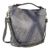 Unikátní kombinovaná kabelka 3091 šedá