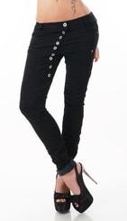 Stylové černé džíny st-ri376
